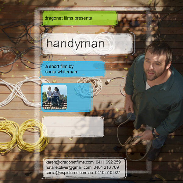 Handyman Flyer   Dragonet Films